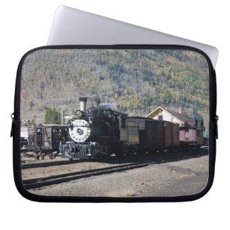Steam Locomotive Landscape Laptop Sleeves