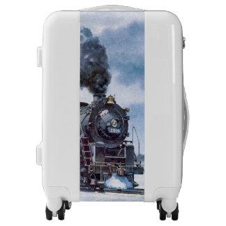 Steam Locomotive Luggage