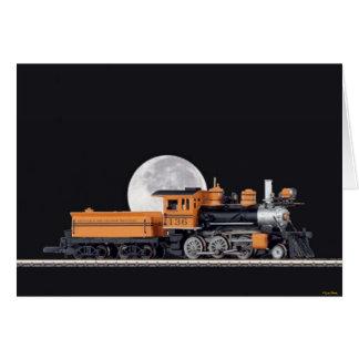 Steam Locomotive Mogul Card