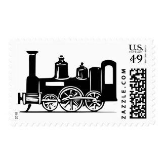 Steam Locomotive Postage