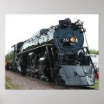 Steam Locomotive Poster