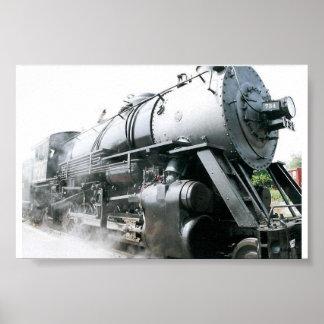 Steam Locomotive Posters