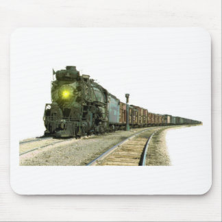 Steam Locomotive Scenery Mouse Pad