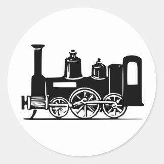 Steam Locomotive Stickers