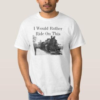 Steam Locomotive T Shirt