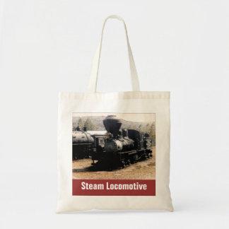 Steam Locomotive Tote Bag