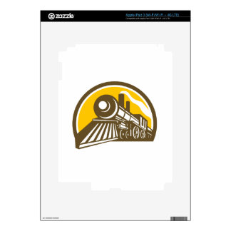 Steam Locomotive Train Icon iPad 3 Skin