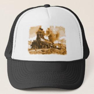 Steam Locomotive Trucker Hat