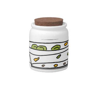 Steam machine cooker candy jar