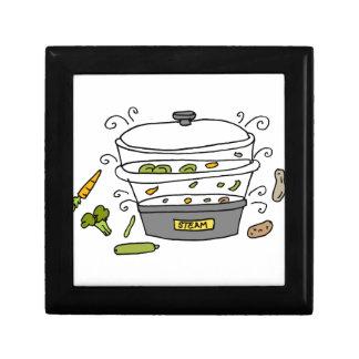 Steam machine cooker keepsake box