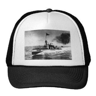 Steam Powered Boat Trucker Hat