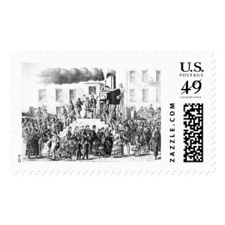 Steam-Powered Camera 1871 Postage Stamps