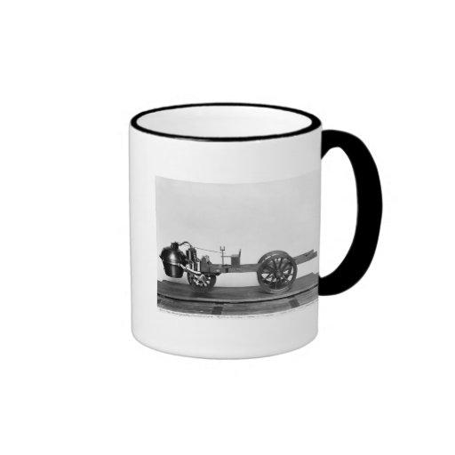 Steam-powered car invented mugs