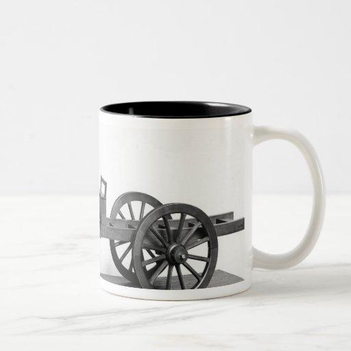 Steam-powered car invented coffee mugs