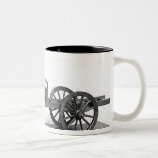 Steam-powered car invented Two-Tone coffee mug