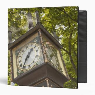 Steam powered clock in the Gastown neighborhood Binder