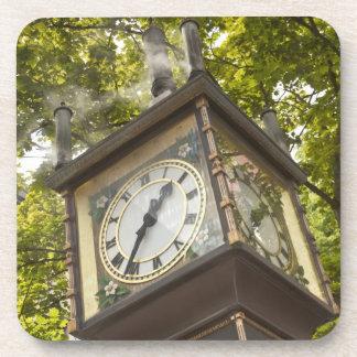 Steam powered clock in the Gastown neighborhood Coaster