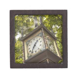 Steam powered clock in the Gastown neighborhood Gift Box