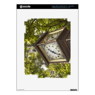 Steam powered clock in the Gastown neighborhood iPad 3 Skin