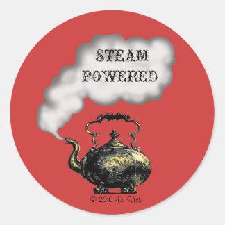 Steam Powered Sticker