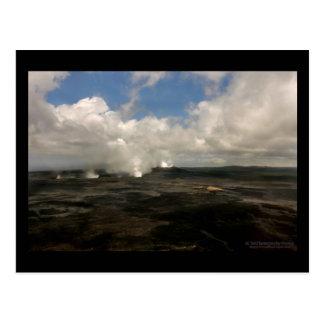 Steam Puffs - Hawaii Postcard