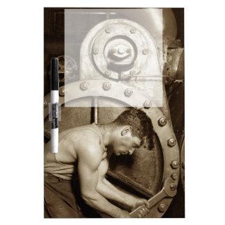Steam Pump Mechanic Dry Erase Board
