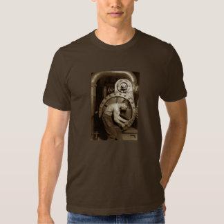 Steam Pump Mechanic T Shirt