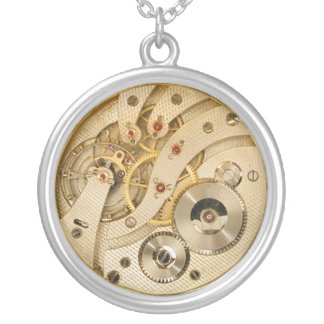 Steam Punk Clock Necklace