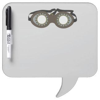 Steam Punk Goggles Dry Erase Board