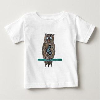 Steam Punk Owl Baby T-Shirt