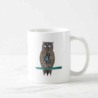 Steam Punk Owl Coffee Mug