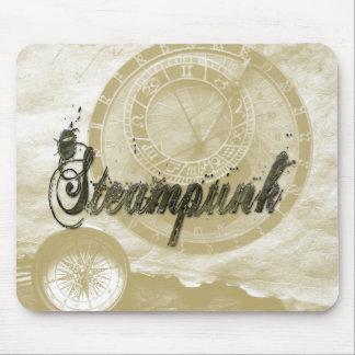 Steam punk vintage fashion art mouse pad