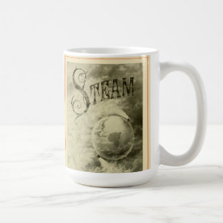 Steam Runs The World 1904 Classic White Coffee Mug