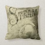 Steam Runs The World 1904 Pillow