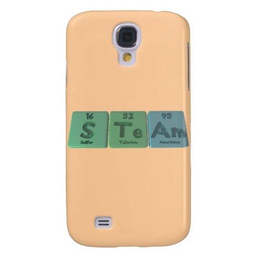 Steam-S-Te-Am-Sulfur-Tellurium-Americium.png Funda Para Galaxy S4