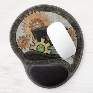 Steam Sass Steampunk Mixed Media Gel Mouse Pads