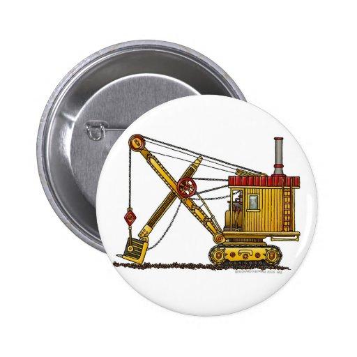Steam Shovel Digger Construction Pins