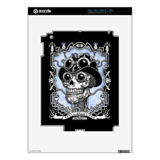Steam Skullabee iPad 2 Skins