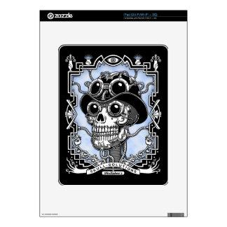 Steam Skullabee iPad Decals
