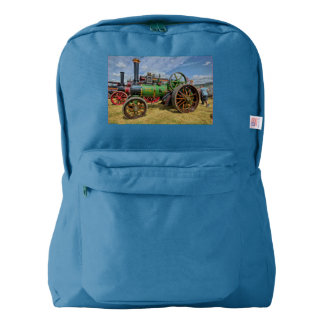 Steam Traction Engine American Apparel™ Backpack