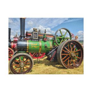 Steam Traction Engine Canvas Print