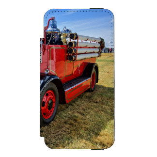 Steam Traction Engine Wallet Case For iPhone SE/5/5s