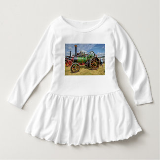 Steam Traction Engine Infant Dress