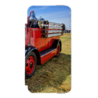 Steam Traction Engine iPhone SE/5/5s Wallet Case