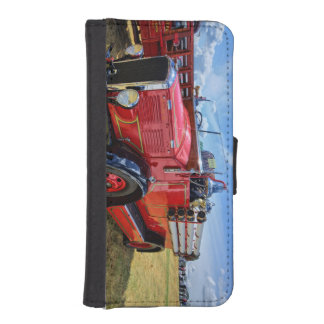 Steam Traction Engine Wallet Phone Case For iPhone SE/5/5s