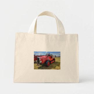 Steam Traction Engine Mini Tote Bag