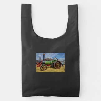 Steam Traction Engine Reusable Bag