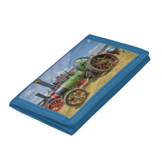 Steam Traction Engine Tri-fold Wallets