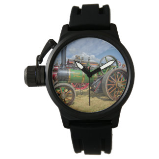 Steam Traction Engine Watch