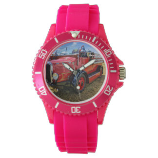 Steam Traction Engine Wrist Watch